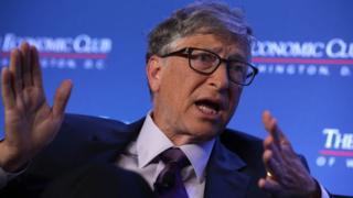 Bill Gates, co-fundador de Microsoft.