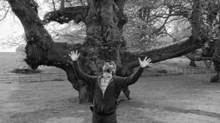 Bill Jay at Stourhead Gardens, 1982