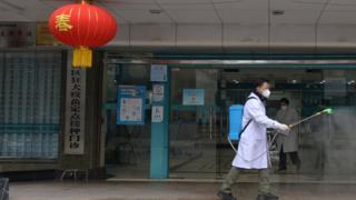 Penanganan virus corona di China