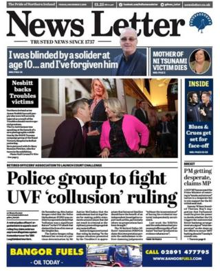 front page of news letter Friday 7 December 2018