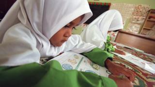 Malezya'da bir Kuran kursu