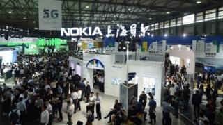 Nokia booth