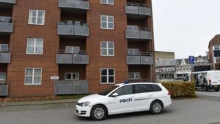 Danimarka'da cesetlerin bulunduğu apartman