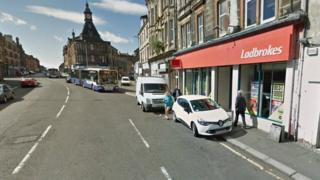 Ladbrokes in Wellmeadow Street, Paisley
