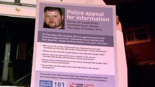 Appeal over murder of Joe Reilly