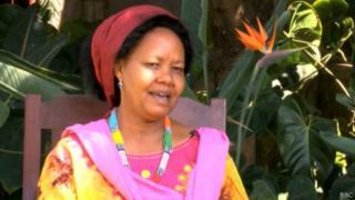 Mghwira ndiye mwanamke pekee aliwania urais Tanzania