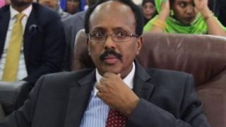 Prezida wa Somalia amaze iminsi atowe, Mohamed Abdullahi Mohamed azwi cane kw'izina rya Farmajo