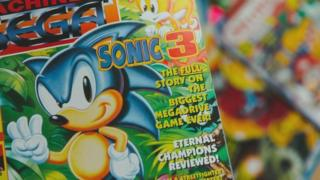 Sonic 3 on the cover of Mean Machines Sega