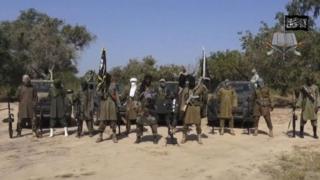 Sojojin Najeriya na ci gaba da fafatawa da kungiyar Boko Haram a yankunan jihar Borno
