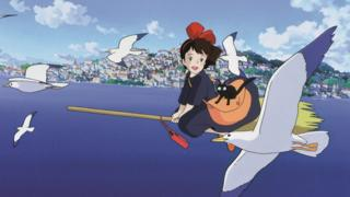 Kiki's Delivery Service still from Studio Ghibli film of same name