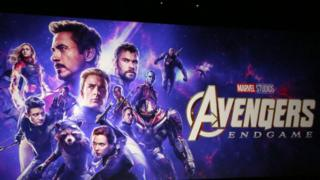 Poster for Avengers: Endgame
