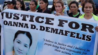 Filipina, Joanna Demafelis