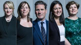 Five leadership candidates