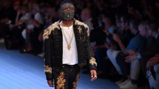 Wizkid debut ontop runway for Milan
