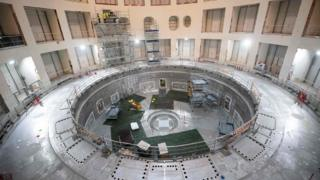 india Iter tokamak building