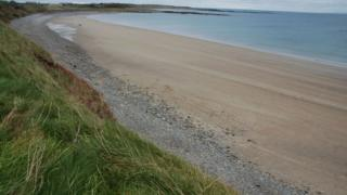 Ballyhornan Beach in County Down