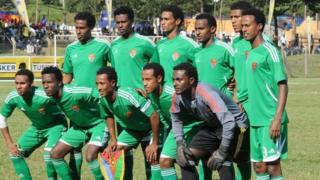 Eritrean national football team players (01 December 2012)