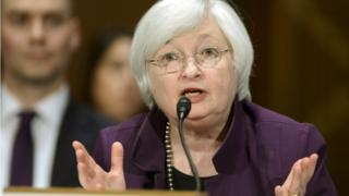 Janet Yellen testifies before the Senate Banking Committee on monetary policy, July 2015