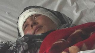 Наразі стан Заріни стабільний, вона перебуває у лікарні