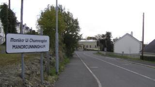 Manorcunningham sign