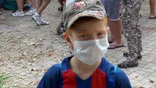 Армянск, эвакуация