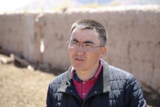 Чоң-Алайдын Жар-Башы айылына биринчилерден болуп эки жыл мурун Зурудин Шакиров алып келген