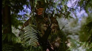 British soldier in camouflage