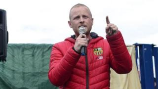 Loyalist Jamie Bryson confirms return of 'wrongly obtained' items