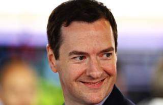 George Osborne at the 2016 F1 British Grand Prix