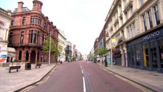 Belfast city centre shops