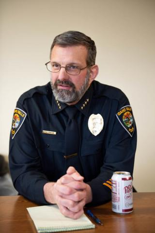 in_pictures Idaho Falls Police Chief Bryce Johnson