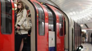 Passenger on the Tube