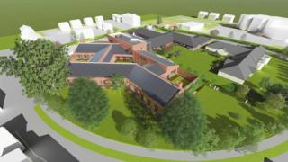 Artist impression of an 11-bed mental health unit in Hull