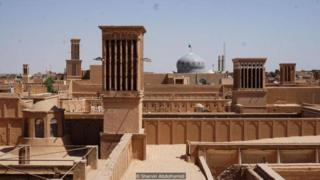 iran, yazd, unesco heritage, arsitektur
