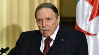 rais AbdelazizBouteflika ameiongoza Algeria tangu 1999