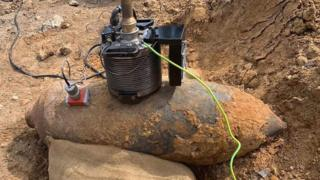World War Two bomb found near Kingston University