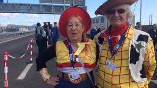 Graham and Cecelia Ferguson from Dalgety Bay