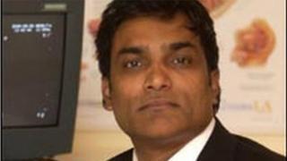 Consultant urologist Manu Nair