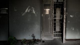 После пожара в Доме профсоюзов в Одессе
