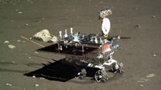 Fotografia da sonda Chang'e-3 - anterior à sonda usada atualmente