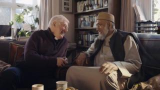 Gary Bradley and Imam Zubeir Hassam Amazon ad
