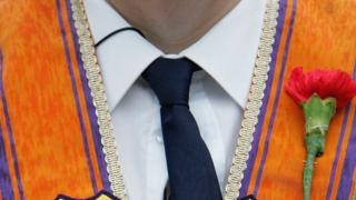 Orange Order lodge sorry over flute band parading at City Hall