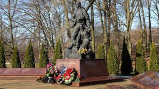 памятник разведчикам в Калининграде