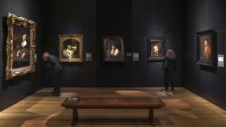 Rembrandts on display at the Dulwich Picture Gallery