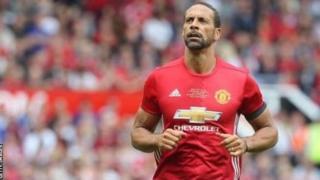 Rio Ferdinand win plenty titles with Manchester United.