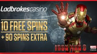 The Ladbrokes email featuring Iron Man