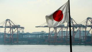 Japan container harbour