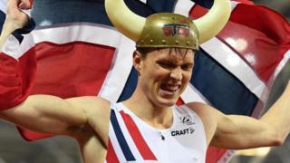 Un atleta noruego