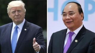 Thương mại được cho là một trong chủ đề được hai nhà lãnh đạo bàn thảo.