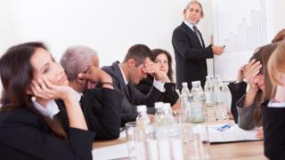 Toplantıda sıkılanlar